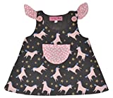 Always Kids Girls' Dress (Gracie Dress 6M-$P, Black, 3-4 Years)