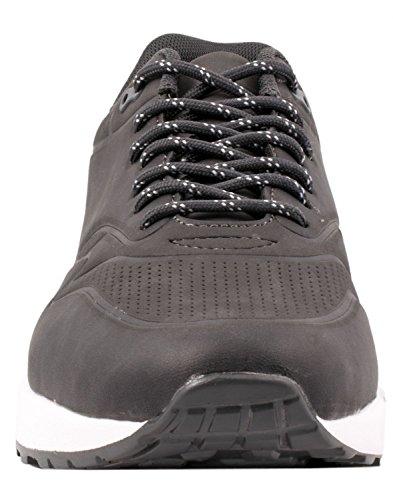 Elara Hochwertige Sneaker | Bequeme Herren Low Top Sportschuhe | Moderne Laufschuhe Turnschuhe Dunkel Grau