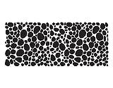 Sichtschutzfolie Fensterbild No.UL973 Kieselsteine I Steine Sand Strand Muster Ornamente selbstklebend Milchglasfolie 5 Farben Fensterfolie Klebefolie Glasdekorfolie Sichtschutz Blickschutz Milchglas Fenster Bad | Glasdekorfolie selbstkle Farbe: Frosted; Größe: 60cm x 140cm