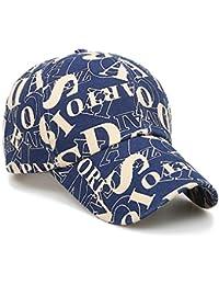 Unisex Baseball Caps Lettera Stampa Cappello Bandiera visiera casuale  cappello registrabile Cotone Hip Hop Coppola per d9d62327f4cf