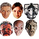 Doctor Who - NEW MULTIPACK - 6 Card Face Masks