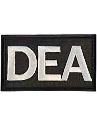 US DEA Federal Agency Drug Enforcement Police Embroidered Touch Fastener Écusson Patch