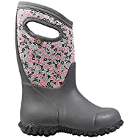 BOGS Girls York Freckle Grey Multi Insulated Warm Wellies Boot 78710 062-11 UK 29 EU