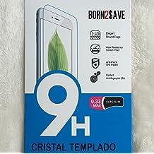 2x Protector de pantalla de cristal templado para BQ Aquaris E5 HD / E5 4G