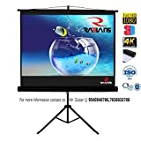 #10: RADIANS Tripod Type Projector Screen 6 Ft. (Width) X 4 Ft. (Height) With Tripod Stand