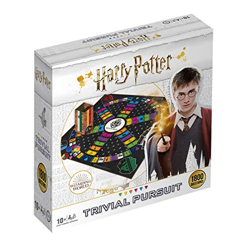 Winning Moves 033343 Harry Potter Trivial Pursuit Full Size, Varios