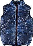 NAME IT Jungen Weste Nkmmylane AOP Vest, Blau (Dress Blues Dress Blues), 152