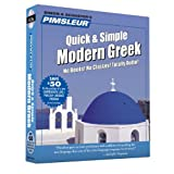 Greek (Modern), Q&S: Learn to Speak and Understand Modern Greek with Pimsleur Language Programs (Quick & Simple) by Paul Pimsleur (2001-02-01)