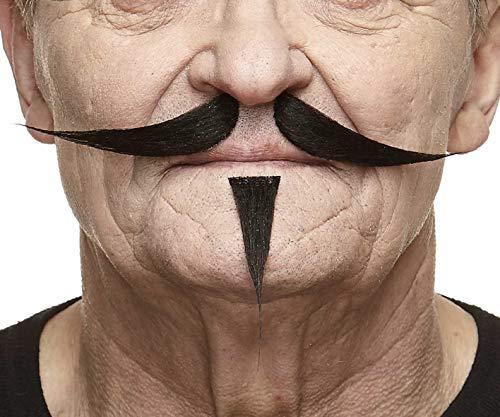 Gentleman fälschen, selbstklebend Schnurrbart und Soul Patch ()