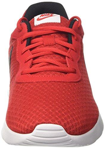 Nike Tanjun, Scarpe da Ginnastica Uomo Rosso (Black/Bright Crimson/White)
