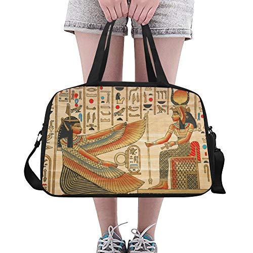 Ägyptische Schuhe - Sport Duffle Bag für Frauen Papyrus