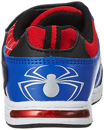 Spiderman Jungen Sp003555 Sneaker Blau (Black/RED/L.C.BLUE 663)