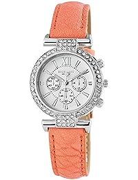 Excellanc Damen-Armbanduhr Analog Quarz verschiedene Materialien 195622100014