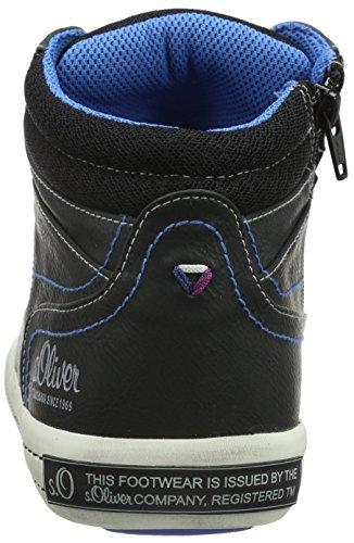s.Oliver 15200, Sneakers Hautes homme Noir (Black 1)