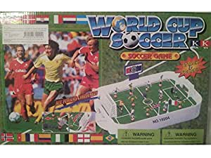 FOOT BALL DE TABLE WORLD SOCCER (baby foot original au doigt)