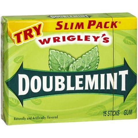 Wrigley's Doublemint Gum Slim Pack (226660) 15 ct