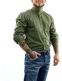 suchergebnis auf f r khaki hemd herren bekleidung. Black Bedroom Furniture Sets. Home Design Ideas