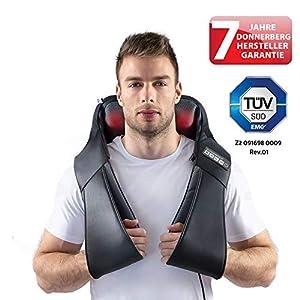 Klopfy Nackenmassagegerät Donnerberg München Klopfmassagegerät für Shiatsu und Klopfmassage 4D – Massagegerät mit Infrarotwärme TÜV Süd 7 Jahre Garantie