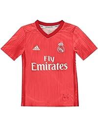 adidas Real 3 JSY Y Camiseta, Niños, (Correa/rojviv), ...