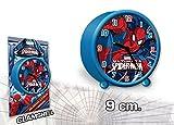 Die besten Spiderman Wecker - Spiderman Wecker rund 9cm Bewertungen