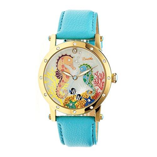 montre-bertha-affichage-analogique-bracelet-acier-inoxydable-turquoise-et-cadran-multicolore-bthbr42