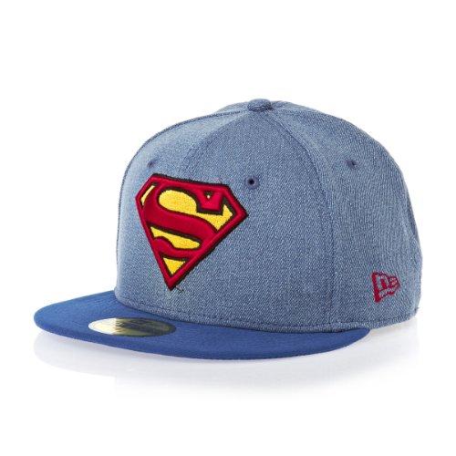 New Era 59Fifty DC Comics Denim Hero Superman 5950 Cap