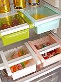 #9: Multipurpose Fridge Storage 1 Pieces Sliding Drawer Refrigerator Bins Space Saver Organizer Shelf Freezer Basket Container Layer Tray by Instabuyz