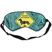 Guard Dachshund On Duty 99% Eyeshade Blinders Sleeping Eye Patch Eye Mask Blindfold For Travel Insomnia Meditation preisvergleich bei billige-tabletten.eu
