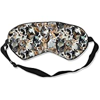 Natural Silk Eyes Mask Sleep Pug Dogs Blindfold Eyeshade with Adjustable for Travel,Nap,Meditation,Sleeping,Shift... preisvergleich bei billige-tabletten.eu