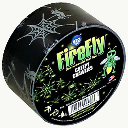 intertape-firefly-glow-in-the-dark-duct-tape-overstock-2-in-x-30-ft-creepy-crawlies-by-intertape