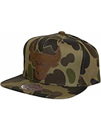 Casquette Camo Bulls Mitchell & Ness casquette snapback cap