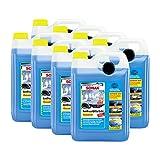 SONAX 8X 03325050 AntiFrost&KlarSicht Konzentrat Frostschutz Waschanlage 5L