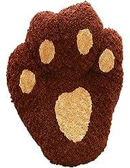 OOFWY Productos para animales de la pata linda impresión cómodas almohadillas auto calentamiento cama desmontable para mascotas , random , S