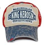KING KEROSIN Kustombuilt Truckercap Basecap Unisex mit Stick