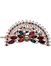 TiedRibbons Peacock Hair Bands/Hair Clips/Hair Combs/Hair Pins/Hair Jewellery For Women