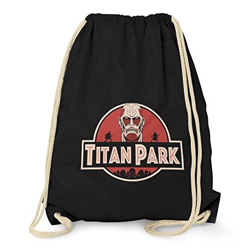 TEXLAB - Titan Park II - Turnbeutel, schwarz