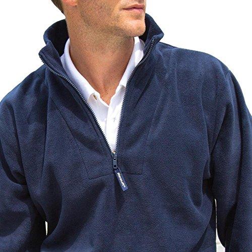 Result - 1/4 Zip Fleece Pullover Red