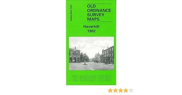 OLD ORDNANCE SURVEY MAP HAVERHILL 1902 BURTON END HAMLET ROAD COPSE HALL