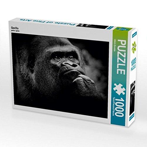 Gorilla 1000 Teile Puzzle quer