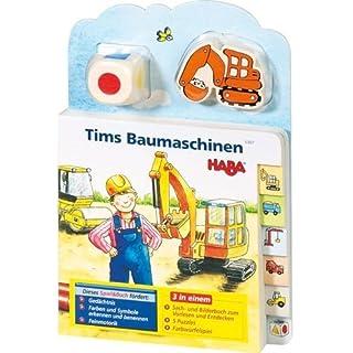 Tim's Baumaschinen (Spiel & Buch)