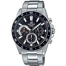 Casio Reloj Analógico para Hombre de Cuarzo con Correa en Acero Inoxidable EFV-570D-