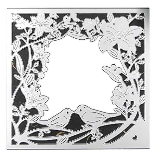 Xurgm - Fustelle a forma di uccello per scrapbooking, in metallo