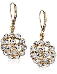 Anne Klein 60363016-887 - Pendientes de metal con cristal