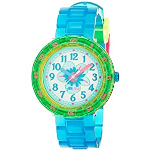 FlikFlak Mädchen Analog Quarz Uhr mit Plastik Armband FCSP029