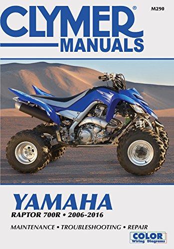 Clymer publishing the best amazon price in savemoney yamaha raptor 700r 2006 2016 fandeluxe Choice Image