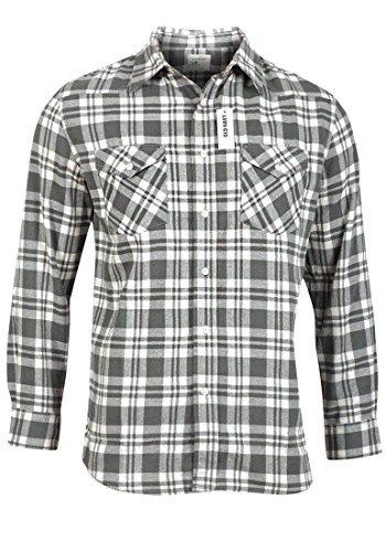 old-navy-camicia-a-maniche-lunghe-da-uomo-a-quadretti-e-per-il-tempo-libero