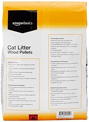 AmazonBasics Cat Litter Wood Pellets 30L by AmazonBasics