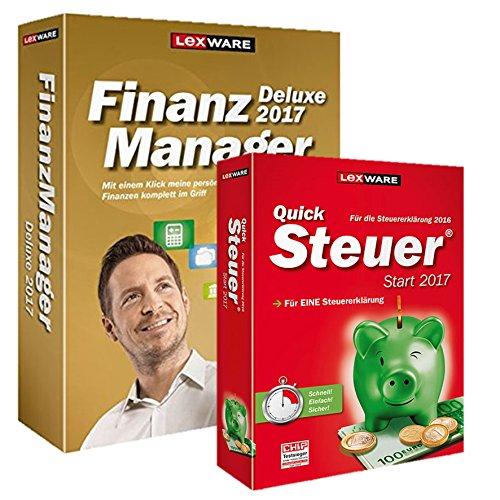 Lexware Finanzmanager 2017 inkl Quicksteuer Start Finanzpaket 2017