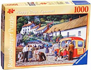 Ravensburger Happy Days No. 3 - Lynmouth, 1000pc Jigsaw Puzzle