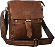 Men Shoulder Cross-Body Sling Fashion Schoolbag Casual Large Capacity Bags with Adjustable Strap